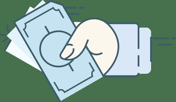 Chargeback mitigation: hand returning money